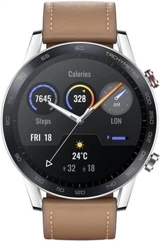 Refurbished: Honor Magic Watch 2 (46MM) - Flax Brown, B