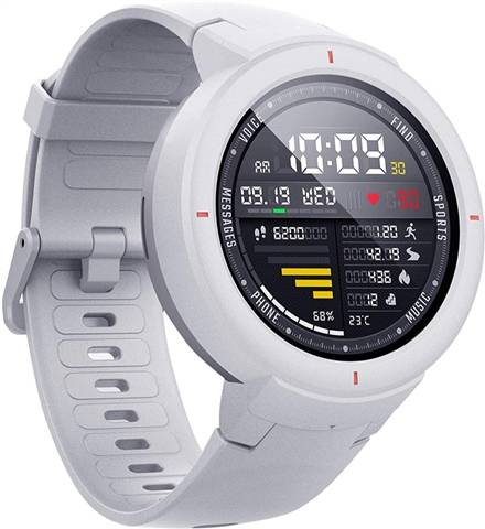 Refurbished: Xiaomi Huami Amazfit Verge Smart Watch - White, B
