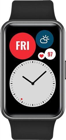 Refurbished: Huawei Watch Fit Smartwatch - Graphite Black, A