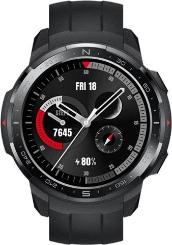 Refurbished: Honor GS Pro Smartwatch - Black, B