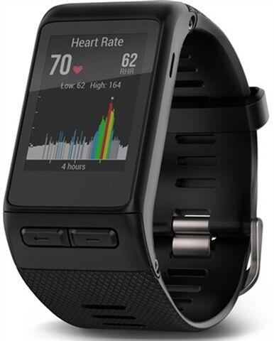 Refurbished: Garmin Vivoactive HR GPS Smart Watch - Black, B