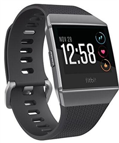 Refurbished: Fitbit Ionic Smartwatch - Charcoal/Smoke Grey, B