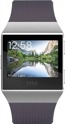 Refurbished: Fitbit Ionic Smartwatch - Silver Gray/Blue Grey, C