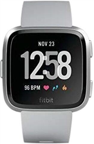 Refurbished: Fitbit Versa Health and Fitness Smartwatch - Grey, C