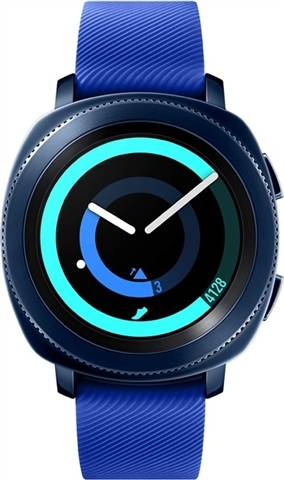 Refurbished: Samsung Gear Sport (SM-R600) Smart Watch - Blue, C