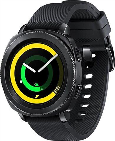 Refurbished: Samsung Gear Sport (SM-R600) Smart Watch - Black, C