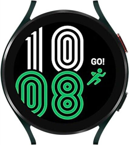 Refurbished: Samsung Watch 4 (Cellular) NO STRAP, Green 44mm, B
