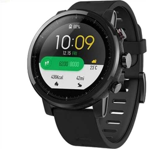 Refurbished: Xiaomi Huami Amazfit Stratos Smartwatch - Black, B