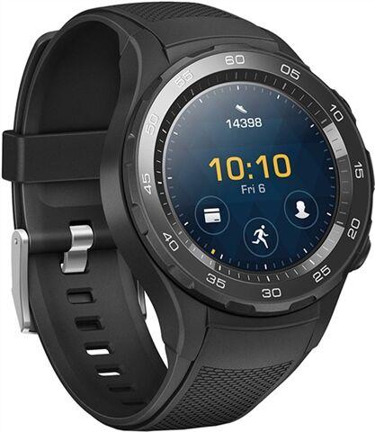 Refurbished: Huawei Watch 2 Sport (4G) Smartwatch - Black, B