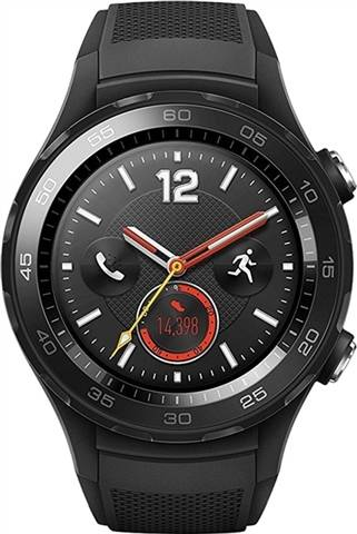 Refurbished: Huawei Watch 2 Sport (4G) Smartwatch - Black, C