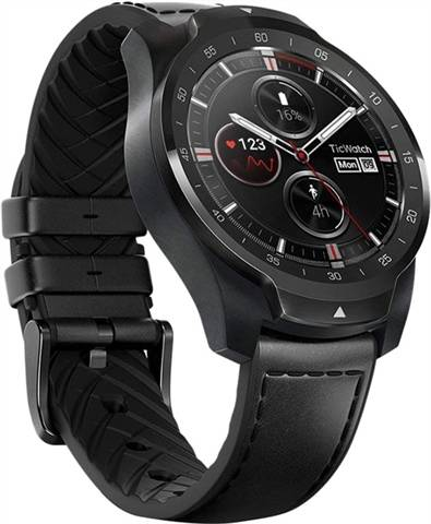 Refurbished: Ticwatch Pro Smartwatch WF12096 Black, B