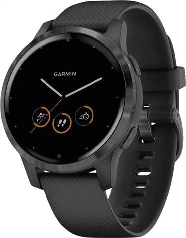 Garmin Vivoactive 4S Smart Activity Tracker Black/Slate Small, A