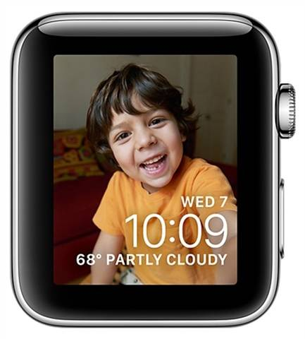 Apple Watch Series 2 (A1757) NO STRAP, Stainless Steel, 38mm, C