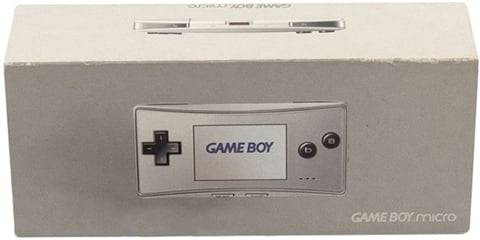 Refurbished: Game Boy Micro Console, Silver, Boxed
