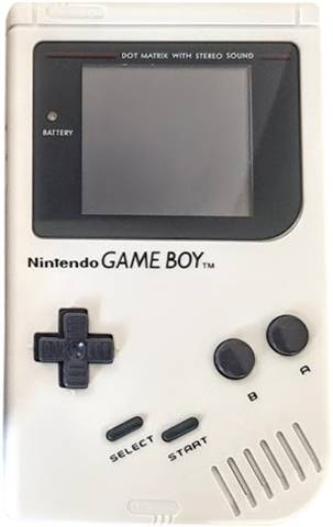 Refurbished: Game Boy Original Console Play It Loud White, Unboxed