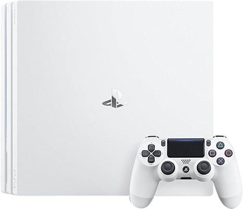 Refurbished: Playstation 4 Pro Console, 1TB Glacier White (No Game/DLC), Boxed