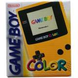 Game Boy Color Console, Yellow, Boxed