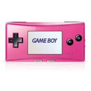 Gameboy Micro Console, Pink, Unboxed