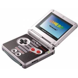Gameboy Advance SP AGS-001 Console, NES Ed., Unboxed