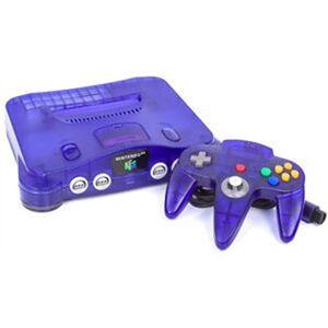Nintendo 64 Console, Grape Purple, Unboxed