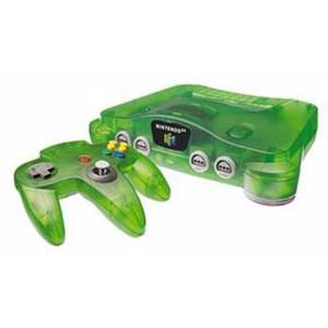 Nintendo 64 Console, Jungle Green, Unboxed
