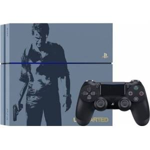 Playstation 4 Console, 1TB Uncharted Grey Blue (No Game), Discounted