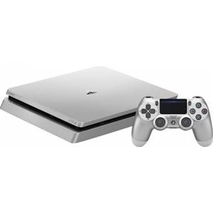 Playstation 4 Slim Console, 500GB Silver (With 1 Silver Pad), Unboxed