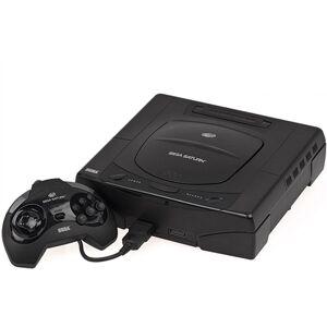 Sega Saturn Console, Model 1, Black, Unboxed