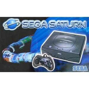 Sega Saturn Console, Model 2, Black, Boxed
