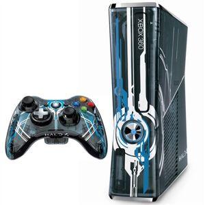Microsoft Xbox 360S (Slim) Console, 320GB, Halo 4 Ed. + 1Pad (No Game) Boxed