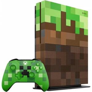 Xbox One S Console, 1TB, Minecraft Green Edition (No Game), Discounted