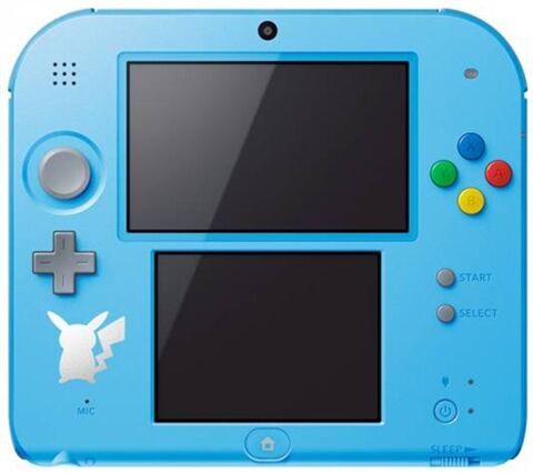 Refurbished: Nintendo 2DS Console, Pokemon Sun/Moon Blue (No Game), Discounted