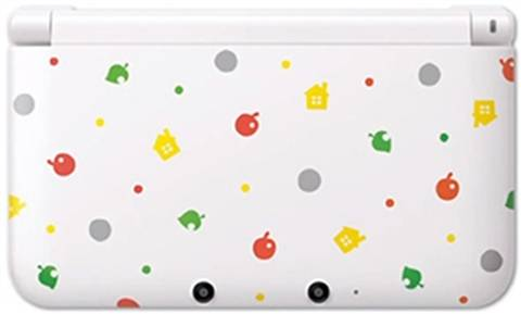 3DS XL Console, Animal Crossing Ed., Unboxed