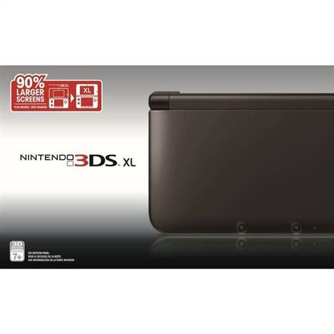 Refurbished: Nintendo 3DS XL Console, Black, Boxed