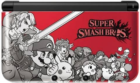 3DS XL Console, Super Smash Bros. Ed. (No Game), Unboxed
