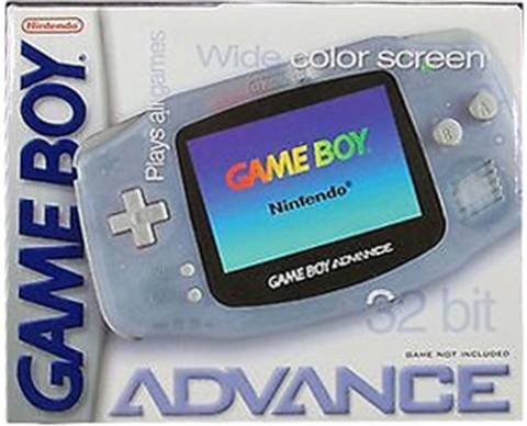 Refurbished: Game Boy Advance Console, Glacier, Boxed