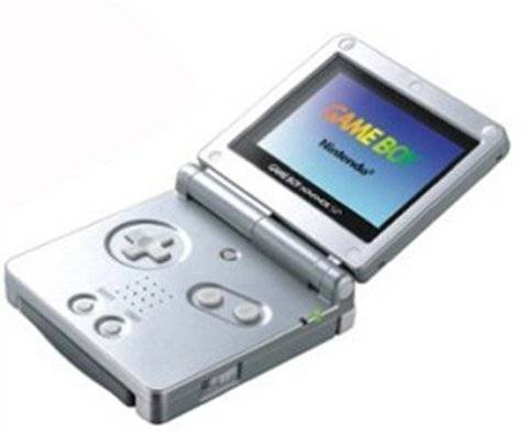 Game Boy Advance SP AGS-001 Console, Cool Silver, Unboxed