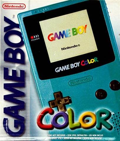 Game Boy Color Console, Teal, Boxed