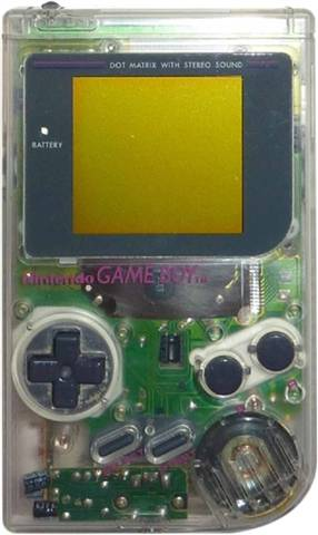 Game Boy Original Console Clear, Unboxed