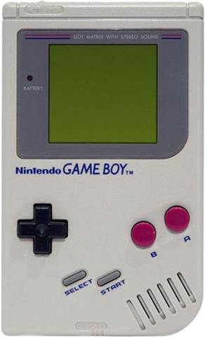 Refurbished: Game Boy Original Console Gray, Unboxed