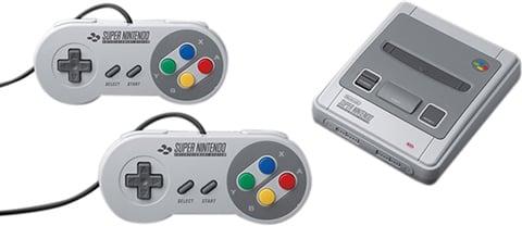 Refurbished: Nintendo Classic Mini Super NES (w/ 2x Controllers), Unboxed