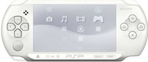 """Refurbished: PSP E1000 """"Street"""" Console, White, Discounted"""