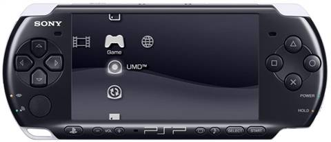 Refurbished: PSP Slim&Lite 3000 Console, Black, Unboxed