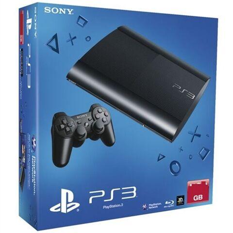 Refurbished: PS3 Super Slim Console, 12GB, Boxed