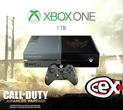 Refurbished: Xbox One Console, 1TB, Call Of Duty A.W Ed. (No Game), Boxed