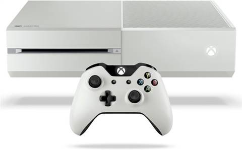 Refurbished: Xbox One Console, 500GB, White (No Kinect), Discounted