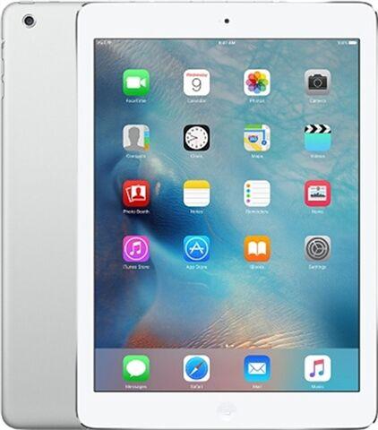 "Refurbished: Apple iPad Air 1st Gen (A1475) 9.7"" 32GB - Silver, EE B"
