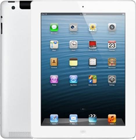 "Apple iPad 4th Gen (A1459) 9.7"" 32GB - White, Vodafone B"