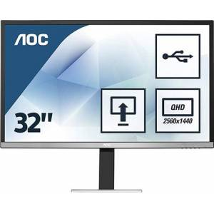 "AOC Q3277PQU 32"" QHD Monitor, C"