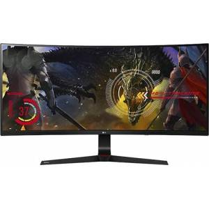"LG 34UC89G-B 34"" Ultrawide Full HD IPS Curved Gaming Monitor, B"